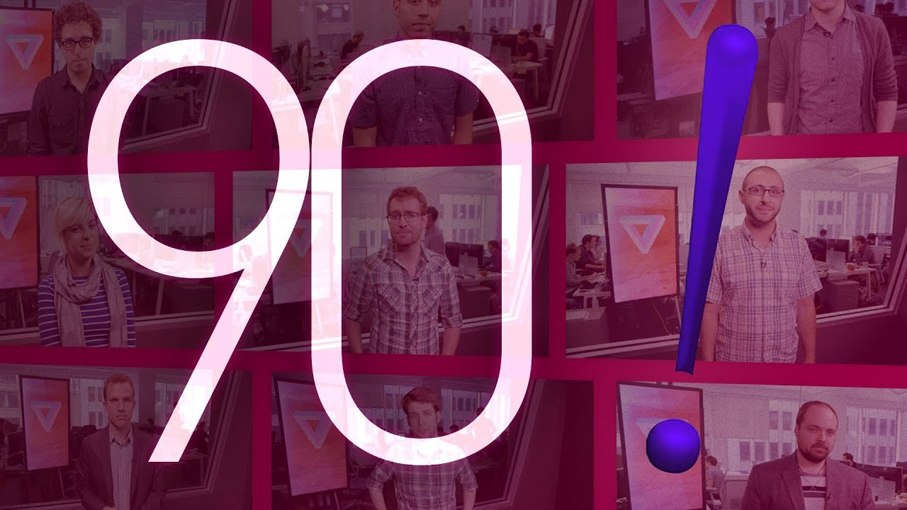 Yahoo! logo, Chrome Apps, and zero gravity action: 90 Seconds on The Verge thumbnail