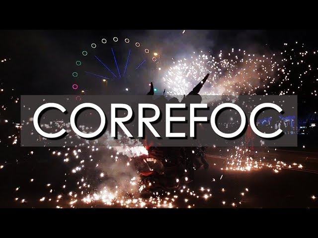 Correfoc Festa Major Barceloneta 2018