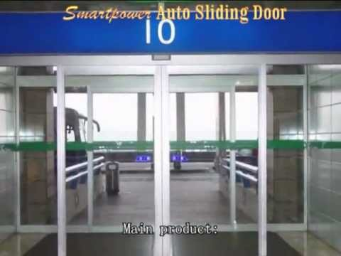 Auto Glass Sensor Door
