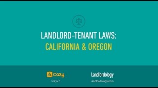 Landlord-Tenant Laws: California and Oregon Presentation - Mark L. Busch