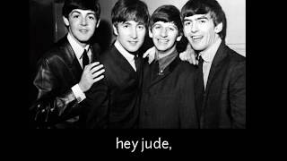 The Beatles - Hey jude (subtitulada en español)
