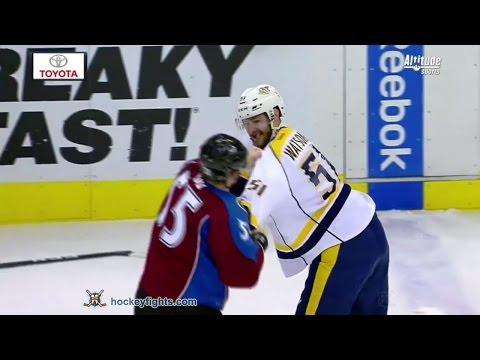 Cody McLeod vs. Austin Watson