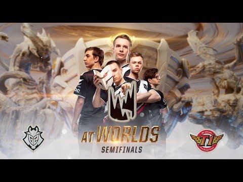 LEC at #Worlds2019 - G2 vs. SKT Semifinals (Gameplay Montage)