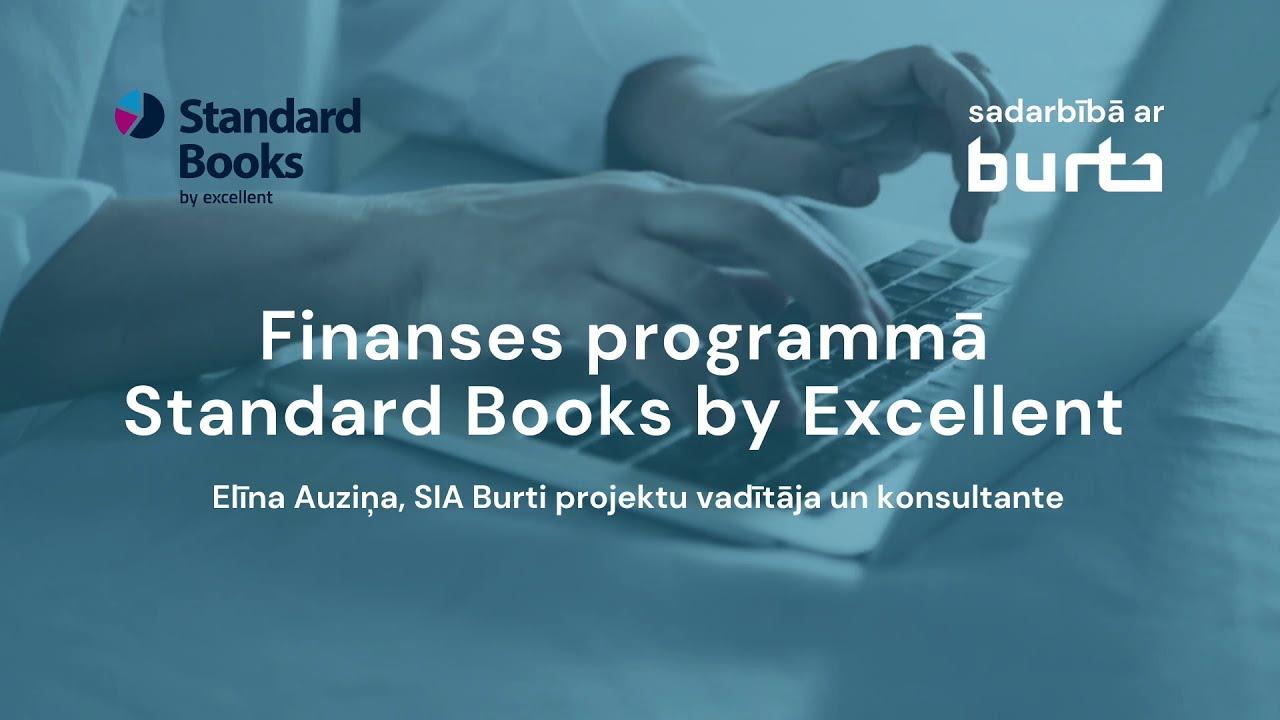 Finanses programmā Standard Books by Excellent