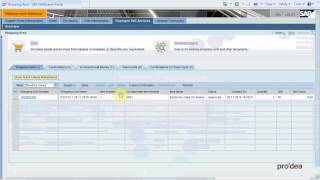 SRM 7.0 Creating Purchase Order from Shopping Cart