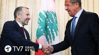 Lebanon seeks Russia's involvement to counter maritime dispute with Israel - TV7 Israel News 21.8.18
