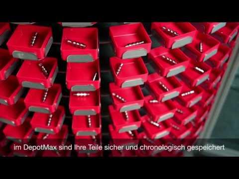 DepotMax - das innovative Teilehandling