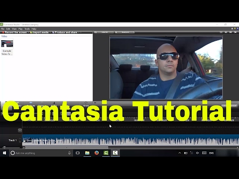 How To Cut Out Parts Of A Video In Camtasia (Tutorial)