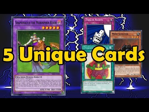 Reviewing 5 Cards With Unique Effects - Custom Card Reviews