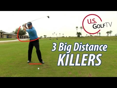 3 Big Distance Killers for Driver