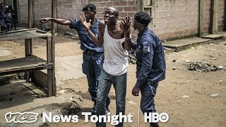 Police Killings in DRC & Antifa Protest Stakeout: VICE News Tonight Full Episode (HBO)