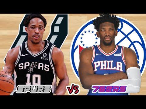 Spurs VS 76ers | Shake Milton Game Winner @ 2:36:41 | Live Stream Reaction
