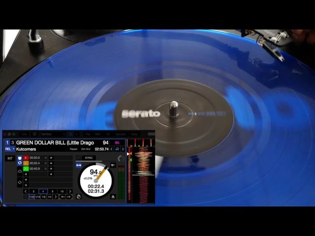 Needle Drop & Sticker Lock demo in Serato DJ 1.9.6