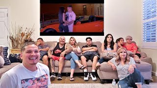 MY FAMILY REACTS TO MY SONG FOR THE FIRST TIME!!