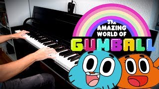 THE AMAZING WORLD OF GUMBALL - Piano Medley