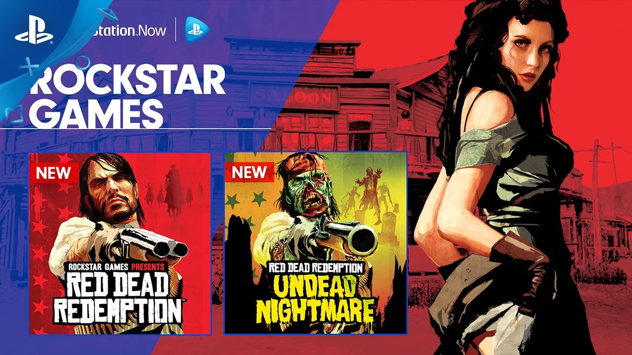 PS Now: Play Red Dead Redemption & Undead Nightmare on PS4