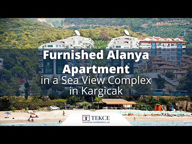 Luxurious Alanya Apartment in a Complex with Full Acitivity