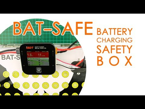BAT-SAFE LiPo Fire safety box for battery charging – BEST FOR LESS