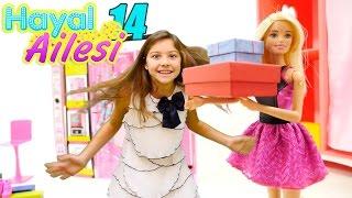 Hayal ailesi 14. Polen Barbie ile alışverişte