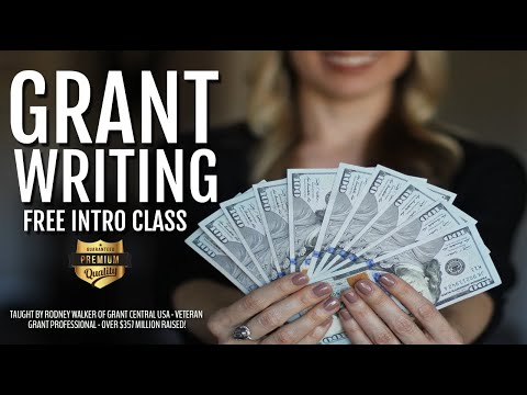 Grant Writing Classes | Free Introductory Classes | Grant Central USA