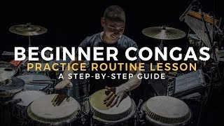 CONGA LESSON   How to Play Congas for Beginners