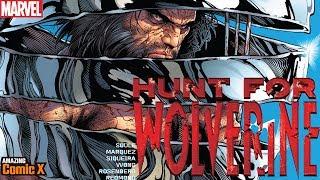 ¿Qué pasó con el cuerpo del Wolverine original bañado en Adamantium? - Hunt for Wolverine #1