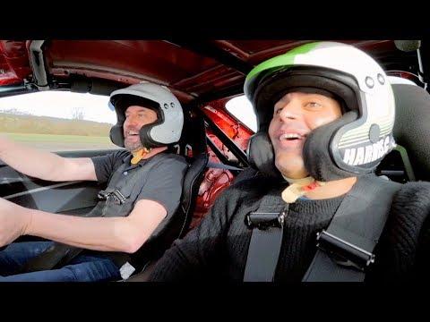 Chris Harris and Lee Mack Lap | Top Gear: Series 25