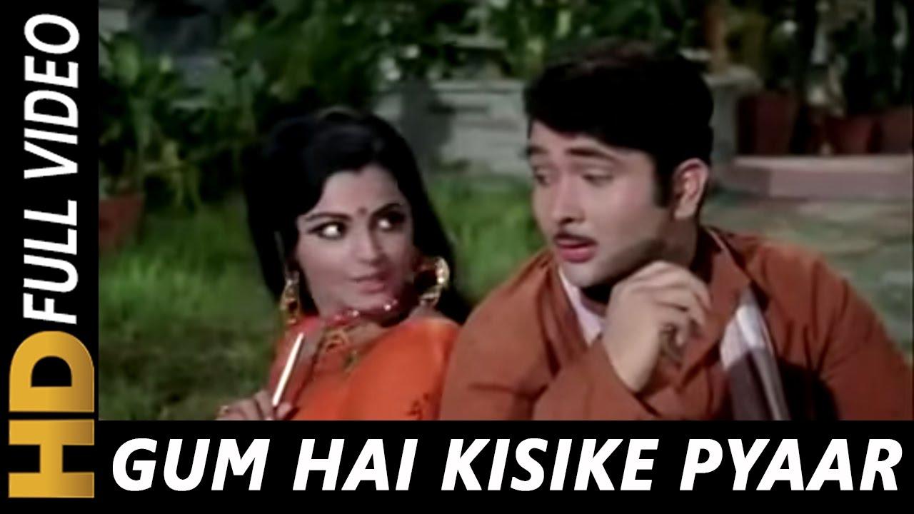 Gum Hai Kisi Ke Pyar Mein Lyrics Meaning Translation