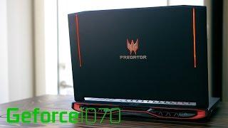 NEW ACER PREDATOR 17 G9-793 BLACK - i7 7700HQ - RAM 32GB - 256GB - GTX1070 - 17.3 INCH FHD - W10