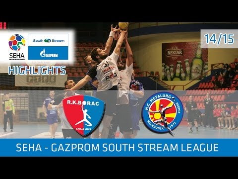 Borac m:tel - Metalurg Highlights