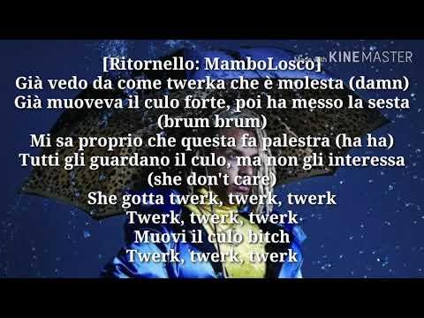 Mambolosco ft boro boro - twerk ( testo & audio)