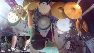 36 Crazyfists - Installing the Catheter, Drum Cover by Luke Pammenton