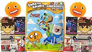 LARGEST SURPRISE BLIND BAG Adventure Time Annoying Orange Play Doh Eggs Toys Disney Vinylmation