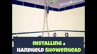 Installing a Handheld Showerhead (Brizo Hydrati)