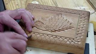 Carving A Stark Cigar Box  Game Of Thrones Inspired