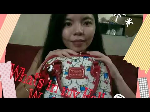 What's in my Hello Kitty Bag pt.2 (Weekend Bag)