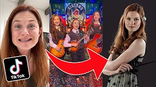 OFFICIAL K3 Sisters Band Cameo From Harry Potters Ginny Weasley (Bonnie Wright)