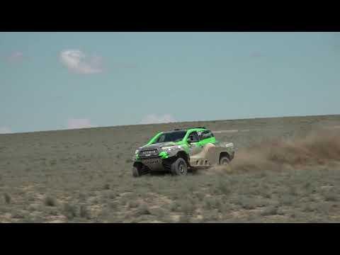 Yazeed Al Rajhi & Dirk Zitzewitz @ Rally Kazakhstan 19' SS4