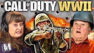 Реакция стариков на игру CALL OF DUTY: WW2 /  ИНОСТРАНЦЫ - ПЕНСИОНЕРЫ и КОЛДА! [ИндивИдуалист]