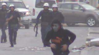 preview picture of video 'توبلي | مواجهات حامية وقمع مستمر في اليوم الثاني من إضراب الإباء | 13-2-2015'