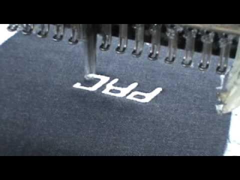 PROmo jeans - ricamo logo tasca posteriore