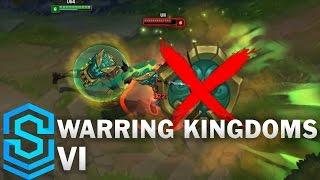 Warring Kingdoms Vi Skin Spotlight - Pre-release - League Of Legends