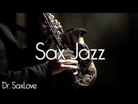 Sax Jazz  2 Hours Smooth Jazz Saxophone Instrumental Music for Relaxing and Study