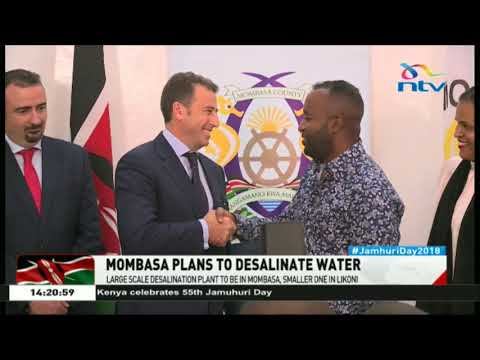 Spanish and Swiss companies to develop Kenya's first desalination plant