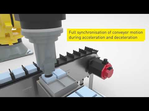 Intelligent robot accessories from FANUC - Servo conveyor