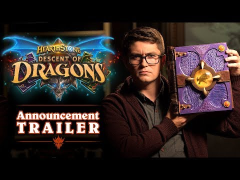 Descent of Dragons Announcement Trailer | Hearthstone thumbnail