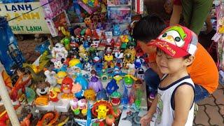 Trò Chơi Bé Đi Mua Đồ Chơi, Tin và anh Hai đi lựa đồ chơi trẻ em ✔ Kids Toy Media