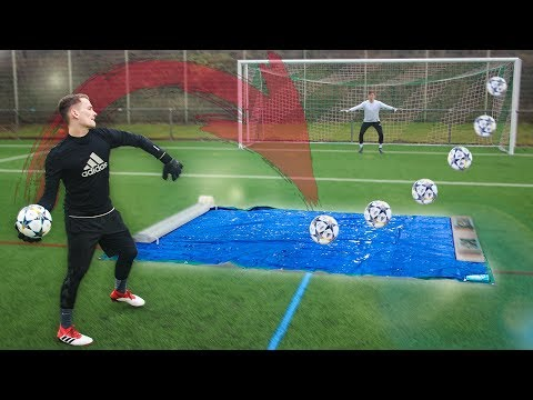 CRAZY TORWART CHALLENGE (ft. GoalKEEPERz)