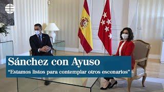 """Sánchez recuerda en Madrid que están listos para """"contemplar otros escenarios"""""""