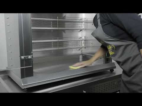 RBE 120Q Electric Rotisserie - GD367 Product Video